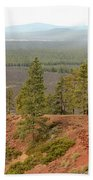 Oregon Landscape - View From Lava Butte Bath Towel