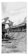 Panama Canal - Construction - C 1910 Bath Towel
