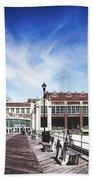 Paramount Theatre - Asbury Park Boardwalk Bath Towel