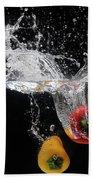 2 Pepper Splash Bath Towel
