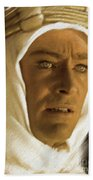 Peter O'toole As Lawrence Of Arabia Bath Towel