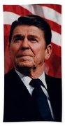 President Ronald Reagan Bath Towel