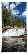 Provo River Falls Bath Towel