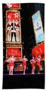 Radio City Rockettes New York City Bath Towel