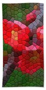 Red Quince Bath Towel