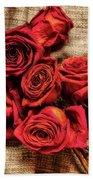 Rose - Flower Bath Towel