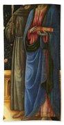 Saints Francis And Mark Bath Towel