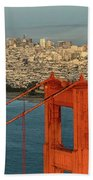 San Francisco Skyline Hand Towel