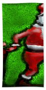 Santa Claus Bath Towel
