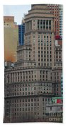 Skyline Of Manhattan - New York City Bath Towel