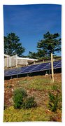 Solar Panels Bath Towel