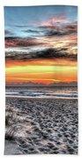 Sunrise Outer Banks Of North Carolina Seascape Bath Towel