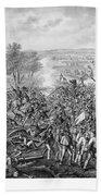 The Battle Of Gettysburg Bath Towel
