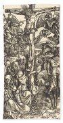 The Crucifixion Bath Towel