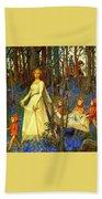 The Fairy Wood Henry Meynell Rheam Bath Towel