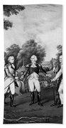 The Surrender Of General Burgoyne Bath Towel