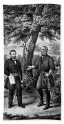 The Surrender Of General Lee Bath Towel