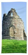 Tutbury Castle Ruins Bath Towel