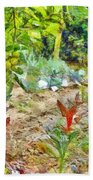 Vegetable Garden Bath Towel