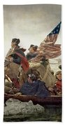 Washington Crossing The Delaware River Bath Towel