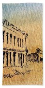 White Oaks Ghost Town New Mexico Hand Towel