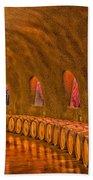Wine Cave Bath Towel