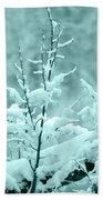 Winter Wonderland In Switzerland Bath Towel
