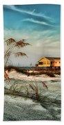 2 Yellow  Beach Houses At Mobile Street Bath Towel