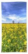 Yellow Fields Of Summer Bath Towel