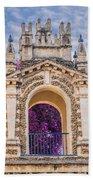 Alcazar Of Seville - Seville Spain Bath Towel