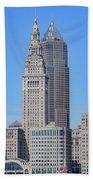 Cleveland Skyline Bath Towel