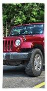 2011 Jeep Wrangler Bath Towel