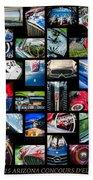 2014 - 2015 Arizona Concours D'elegance Art -03 Bath Towel