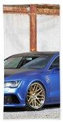 2014 Mr Racing Audi A7 Sportback 3tdi Bath Towel