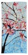 201726 Cherry Blossoms Bath Towel