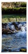 2018_2_12  Mountian Stream-4218 Bath Towel