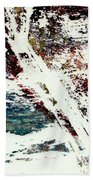 Abstract Bath Towel