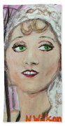 20's Glamour, Parasol Hand Towel