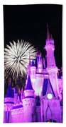 Cinderella Castle Bath Towel