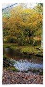New Forest - England Bath Towel