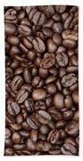 Coffee Beans Bath Towel