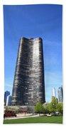 Chicago Skyline Bath Towel