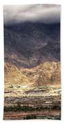 Landscape Of Ladakh Jammu And Kashmir India Bath Towel