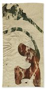 Abstract Art Bath Towel