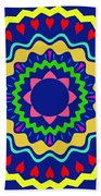 Mandala Ornament Bath Towel
