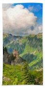 Nature Art Landscape Bath Towel