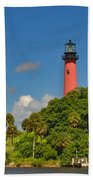 255- Becca Lee - Jupiter Lighthouse Bath Towel