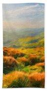 Landscape Nature Bath Towel