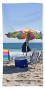 A Day At The Beach Bath Towel