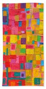 Abstract Painting Bath Towel
